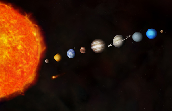 Scale Model of the Solar System | Biocircuits Outreach