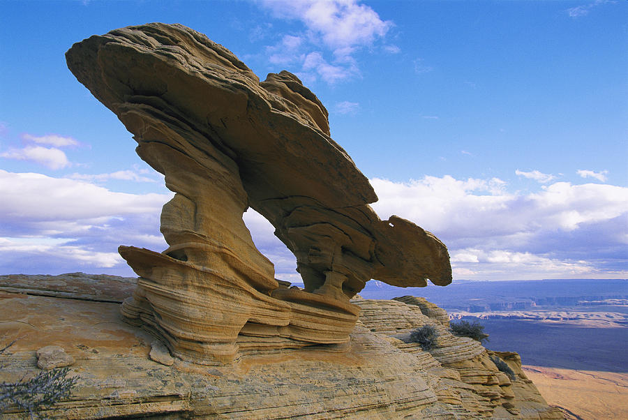 rock-formation-shaped-by-wind-erosion-melissa-farlowRock Erosion